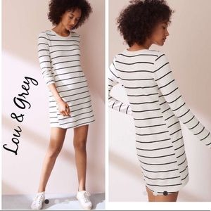 Lou & Grey Petite Stripe Signaturesoft dress